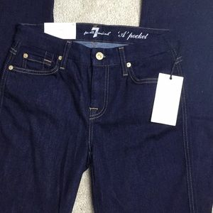 7 For All Mandkind A pocket Flare Jeans
